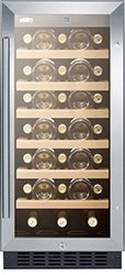 Summit Appliance SWC1535B Wine Cooler
