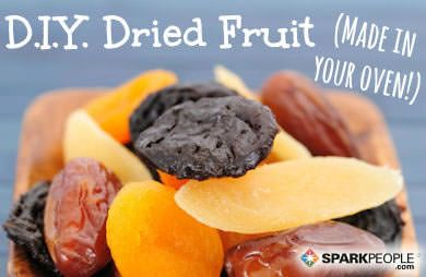 Hack #28: Use your oven for creating dried fruit snacks
