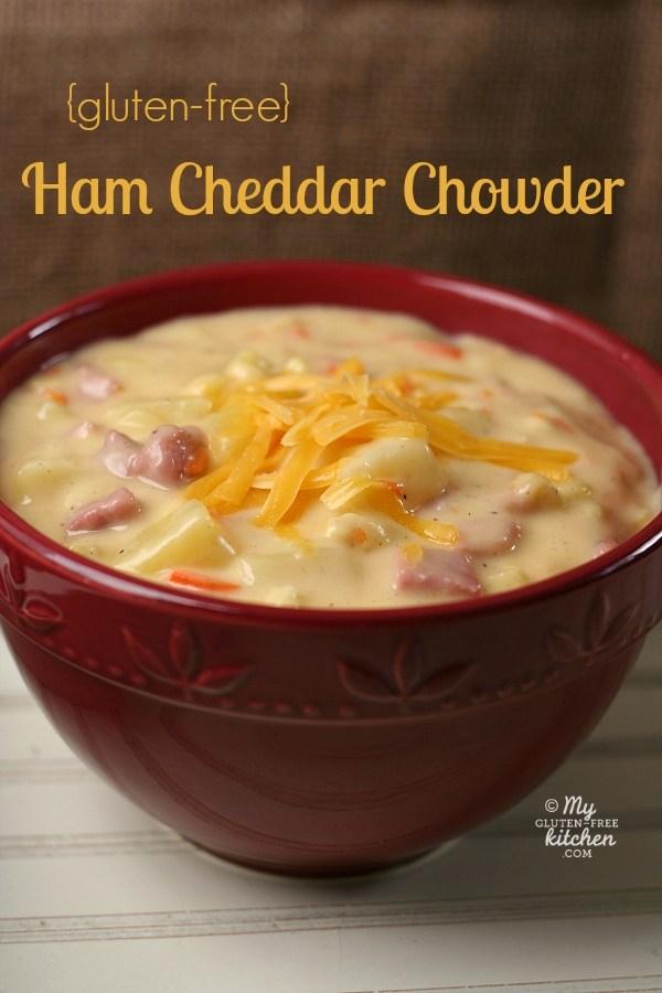 Gluten Free Ham and Cheddar Chowder
