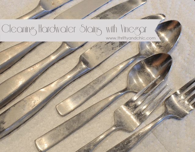 Hack #93: Remove hard water stains on flatware