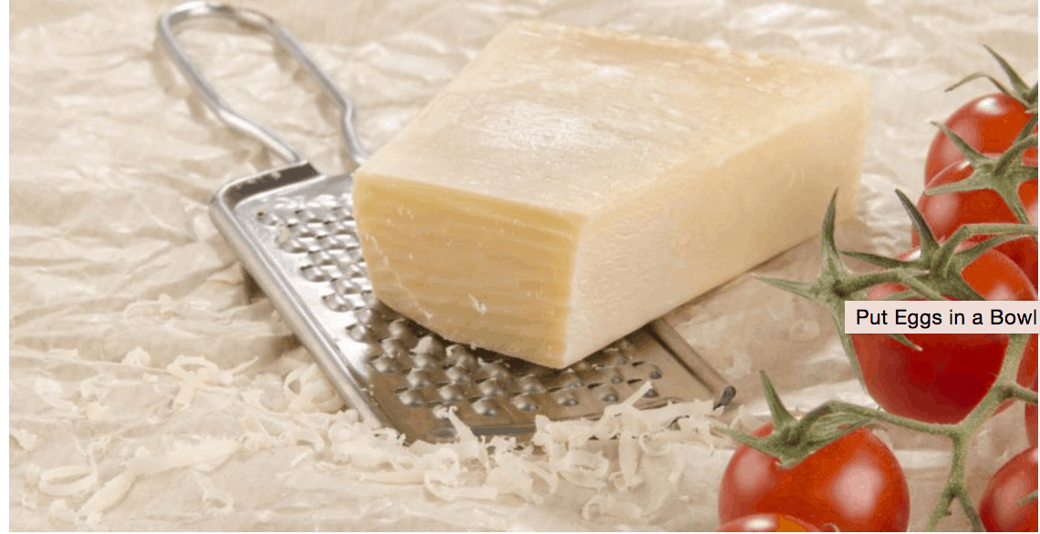 Hack #10: A great way to grate cheese