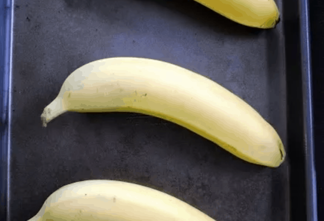 Hack #27: Quickly ripen bananas in the oven