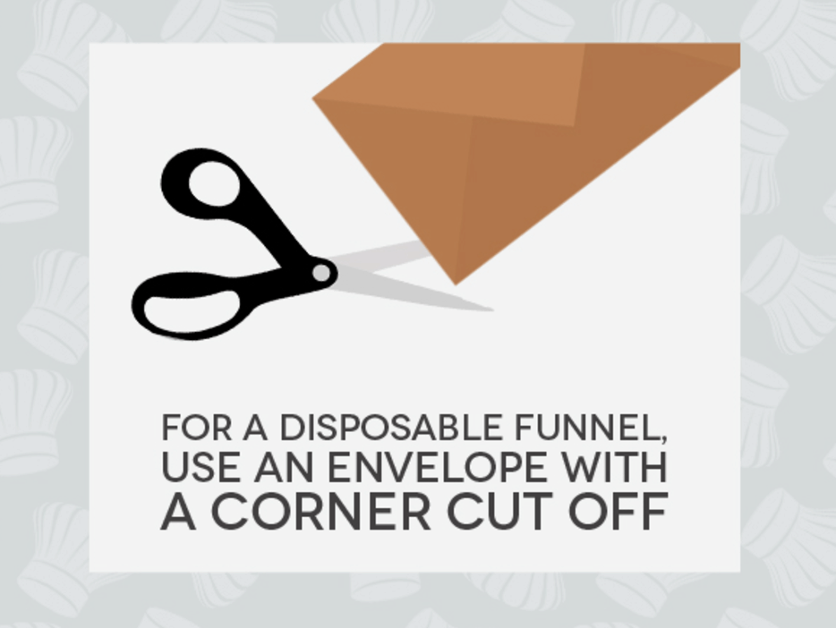 Hack #73: Create a disposable funnel with an envelope