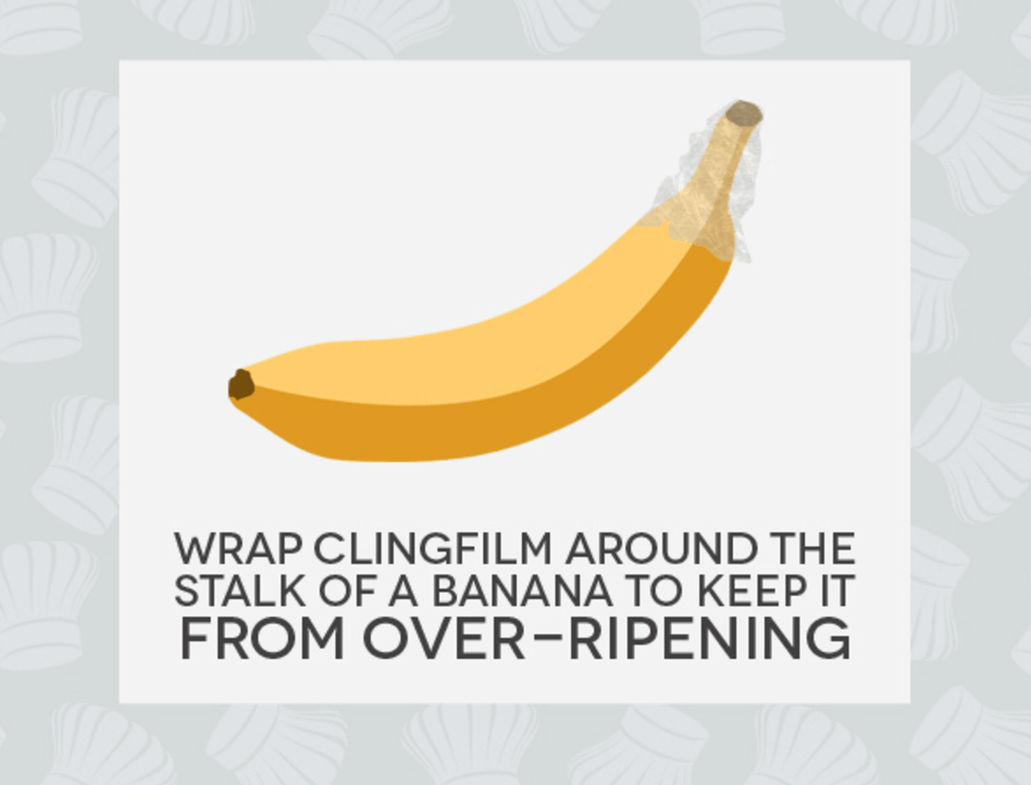 Hack #31: Keep bananas from over-ripening