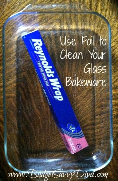 Hack #90: Use aluminum foil as a glass scrubber