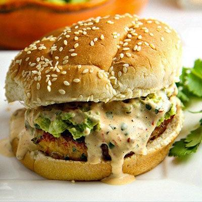 Tex-Mex Chicken Hamburger