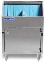 Jackson Delta 115 1200 Glasses per hour Underbar Glass Washer Low Temperature Chemical sanitizing dishwasher