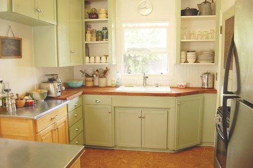 Electic Vintage Kitchen in Portland