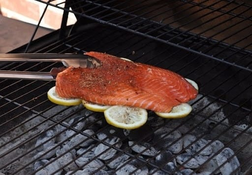 Hack #34: Grill your fish on a bed of lemons