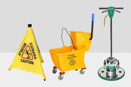Shop Floor Care Equipment & Supplies