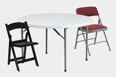Shop Commercial Folding Tables & Chairs