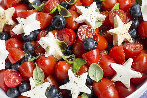 Berry Caprese Salad