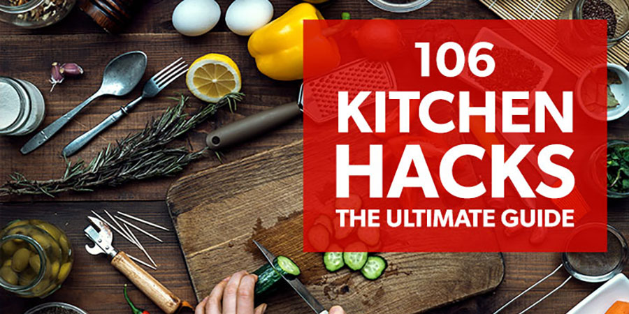DIY Kitchen Hacks: 106 Clever Tips to Save Time and Money