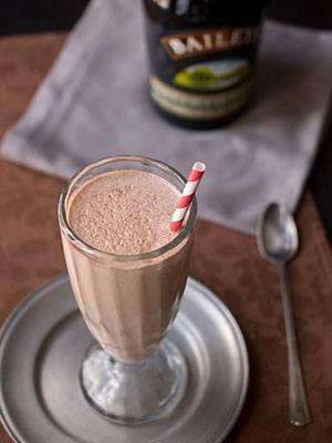 Nutella Irish Cream Milkshake