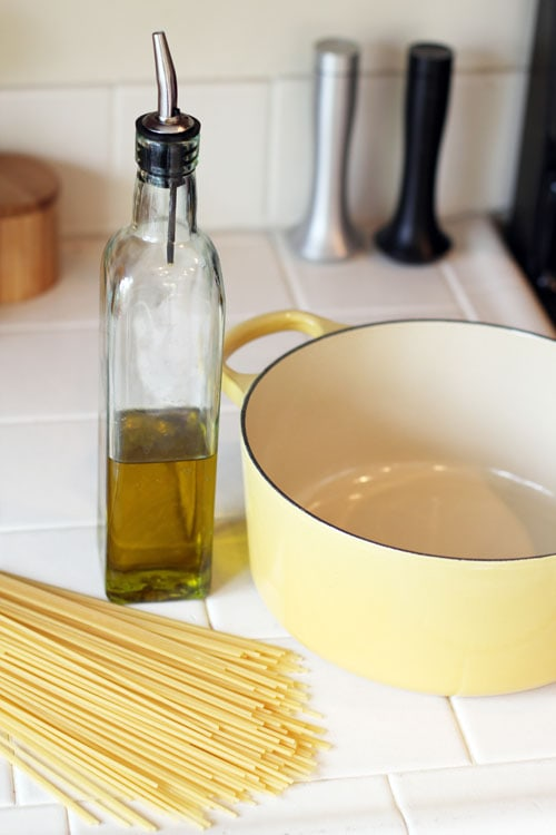 Hack #6: Use cooking oil to keep pots from boiling over