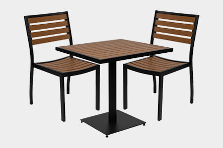 Outdoor Restaurant Patio Tables & Dining Tables
