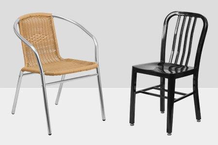 Outdoor Restaurant Patio Chairs