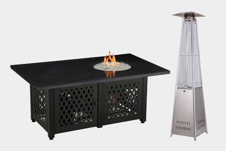 Shop Fire Pits, Patio Heaters, & Outdoor Heaters