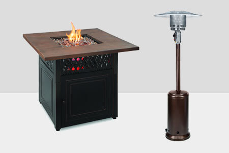 Fire Pits, Patio Heaters, & Outdoor Heaters