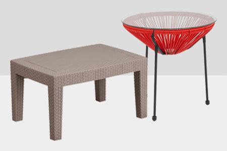 Outdoor Restaurant Patio Low Tables