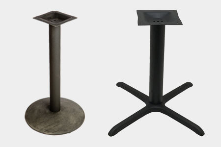 Outdoor Restaurant Patio Table Bases