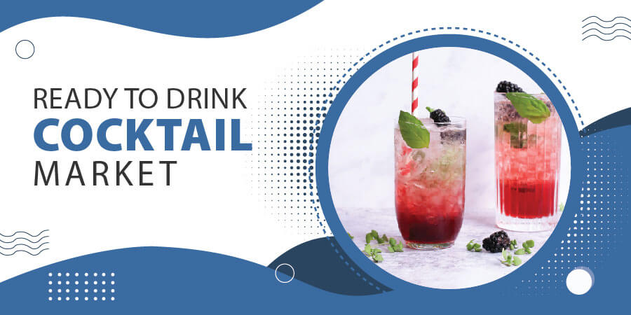 Ready to drink cocktail market banner