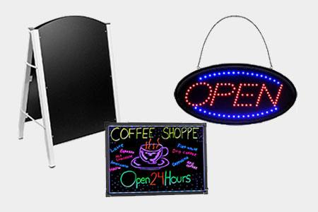 Shop Restaurant Signs & Boards
