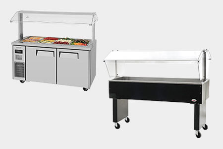Shop Salad Bar, Food Bar, & Buffet Line Supplies