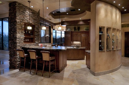 Southwestern Kitchen by Tucson General Contractors Process Design Build, L.L.C.