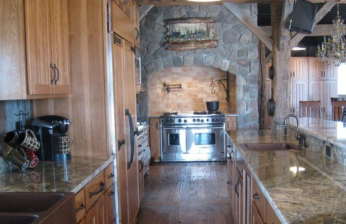 Traditional Kitchen by Richland Design-Build Firms Hickory Builders, Inc.