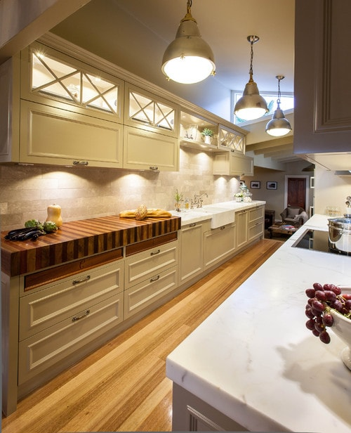 Kitchens With Butcher Block Counters