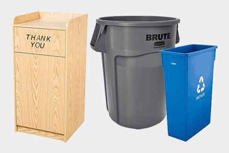 Shop Trash & Recycling