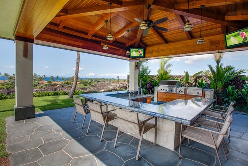 Tropical Kitchen in Hawaii