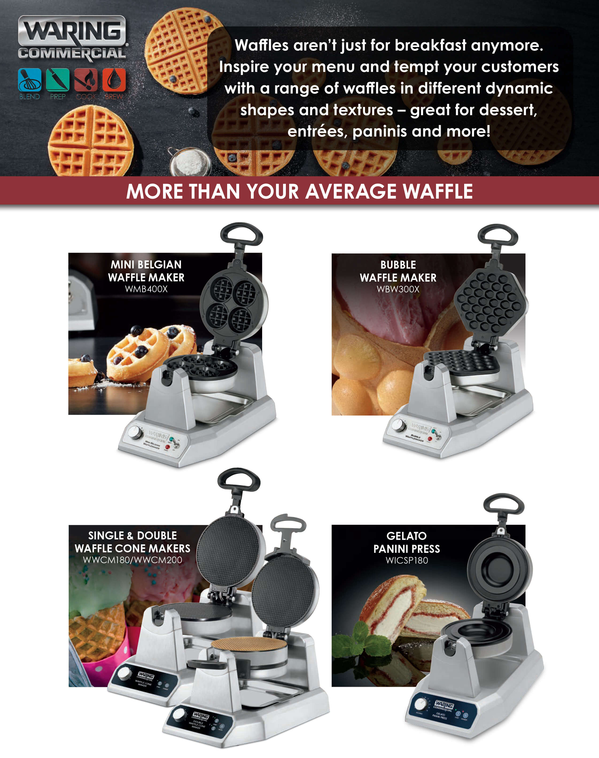 Waring - More Than Your Average Waffle