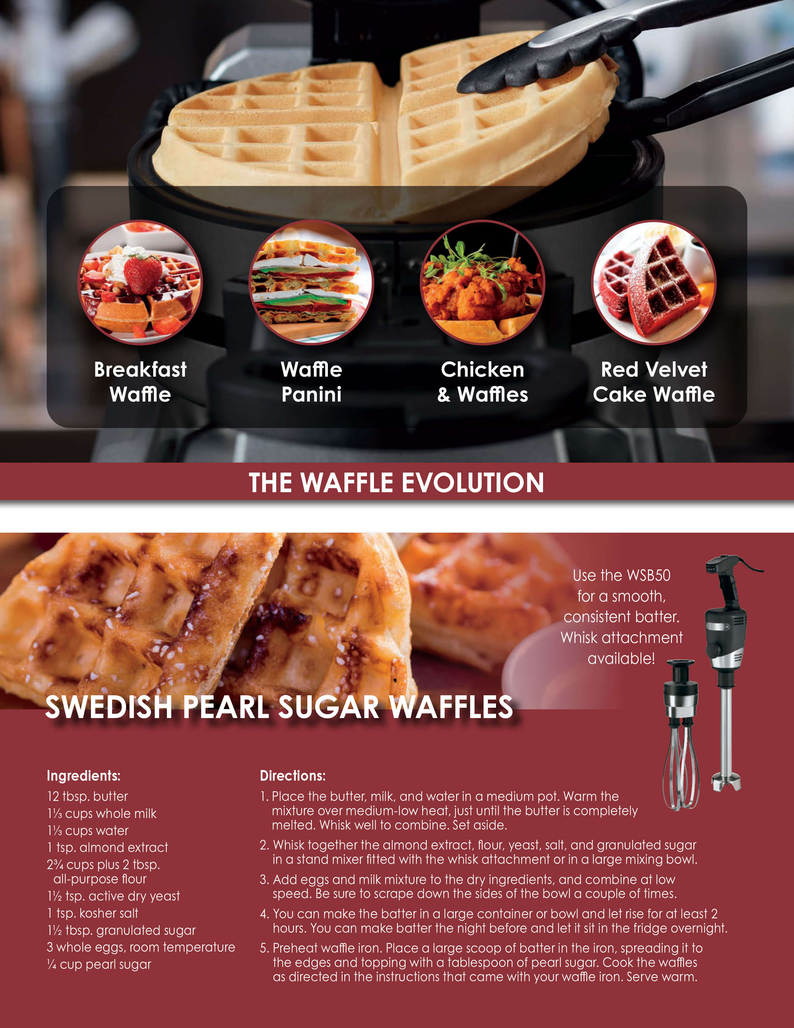Waring - The Waffle Evolution