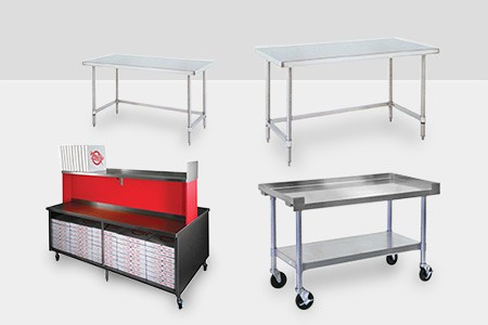 Shop Commercial Work Tables & Stations