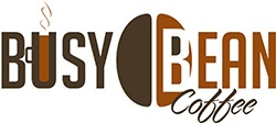 Brand Busy Bean Coffee logo