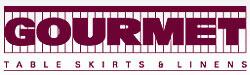 Gourmet Tableskirts & Linens Logo