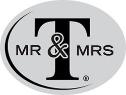 Brand Mr & Mrs T logo