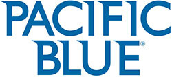Pacific Blue by Georgia Pacific Logo