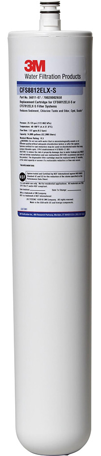 3M Water Filtration CFS8812ELX-S