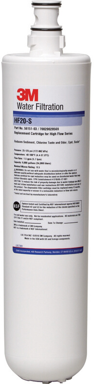 3M Water Filtration HF20-S