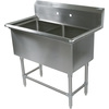 John Boos 2 Compartment Sinks
