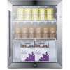 Summit Appliance Countertop Glass Door Refrigerators