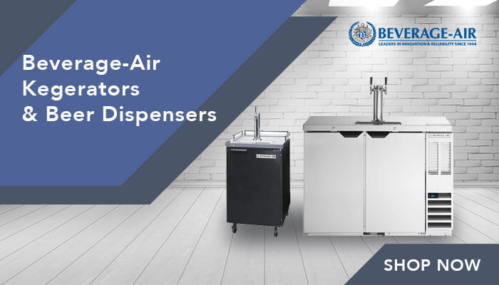 Beverage-Air Kegerators & Beer Dispensers Banner