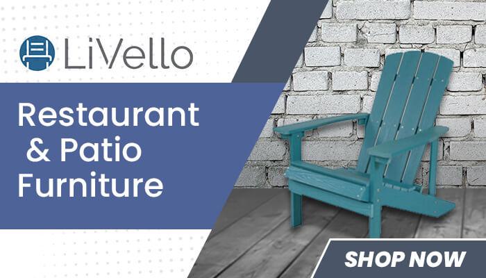 LiVello Restaurant & Patio Furniture - Shop Now
