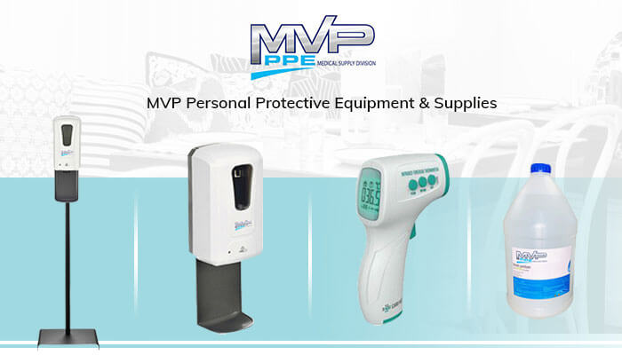 MVP PPE Supplies Banner