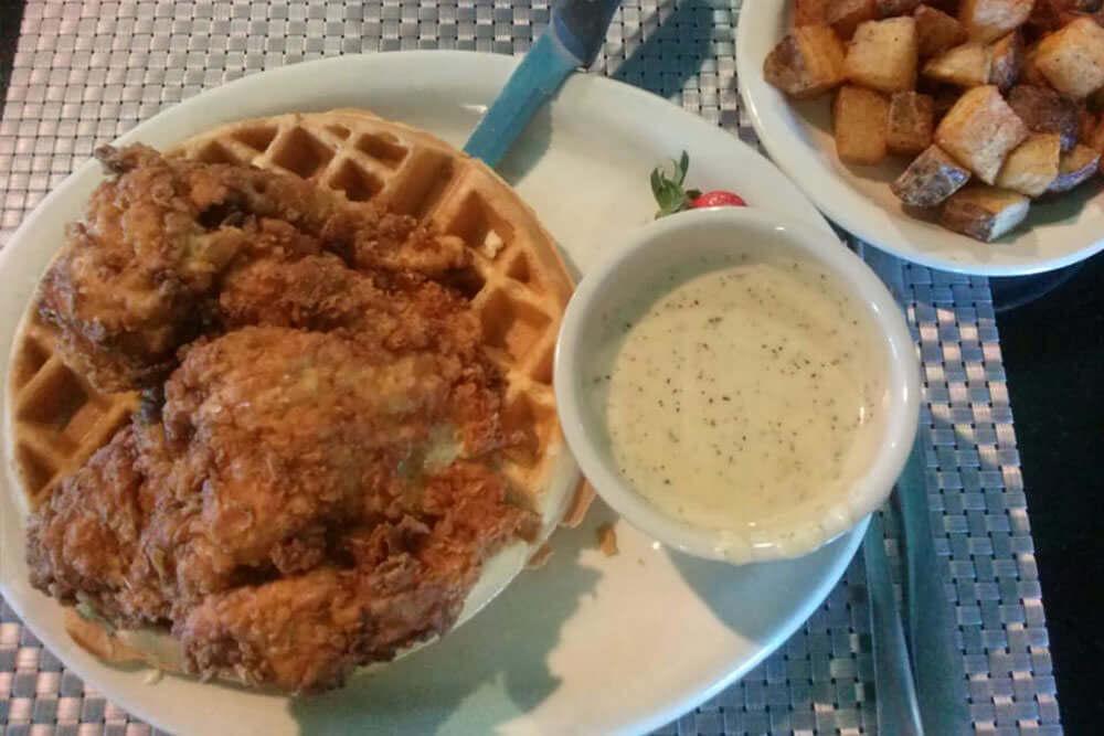 Texas waffle photo