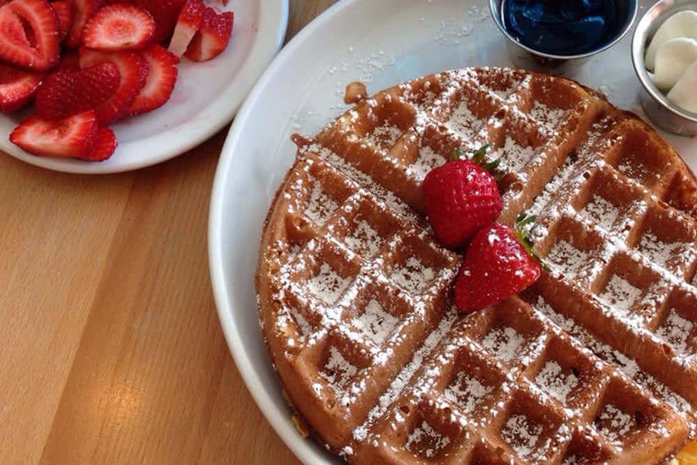hawaii waffle photo