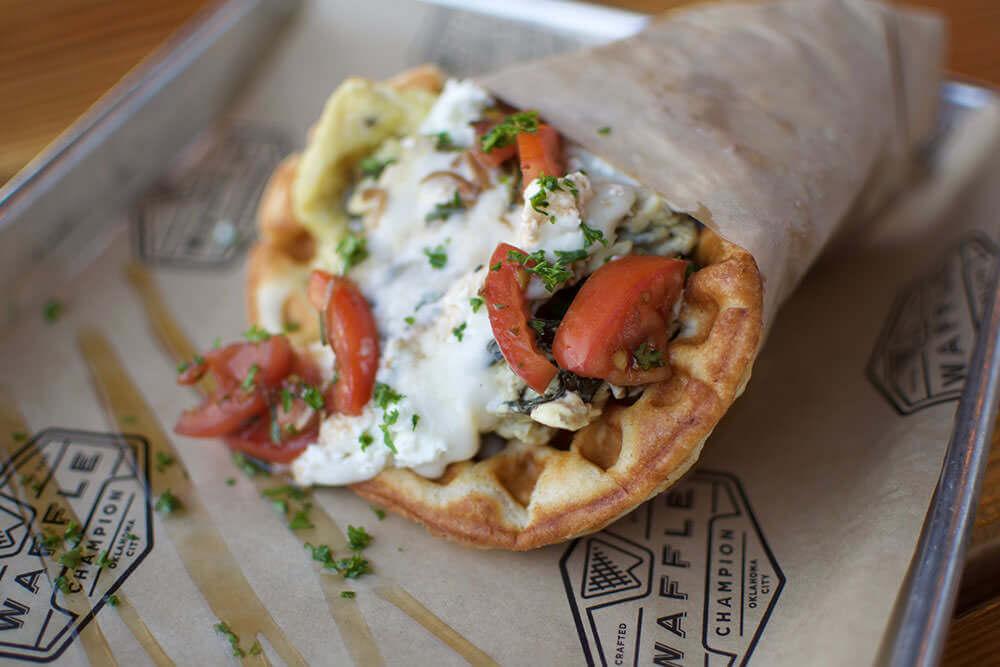 oklahoma waffle photo